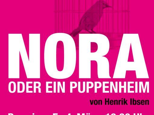 Nora oder ein Puppenheim – Henrik Ibsen /2016